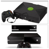 First XBOX compared to newest XBOX
