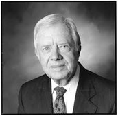 black and white photo of Jimmy Carter