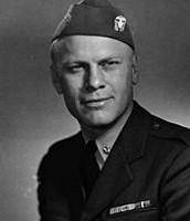 Lieutenant Commander Gerald Ford 1945