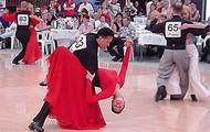 De tango wedstrijd