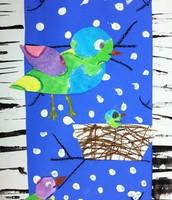 Second Grade Snow Birds