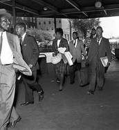Shuttlesworth alongside many other civil rights activists