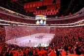 Vayan uno juego de Philadelphia Flyers.