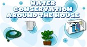 We can Conserve Water at our Houses