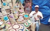 Handmade woven baskets