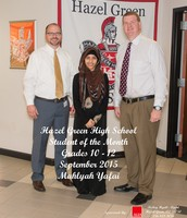 10-12th Grade Student of the Month