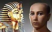 Profile of an Egyptian Pharoah