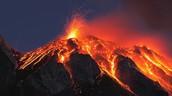 Volvanic eruption