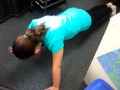 Ava Doing A Push-up!