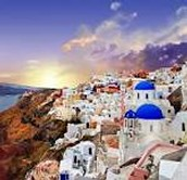 Santorini's main Village (Thira)