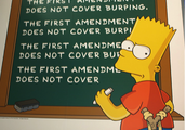 The first amendment doesn't cover burping
