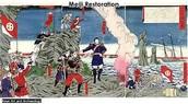 1868-Meiji restoration in Japan