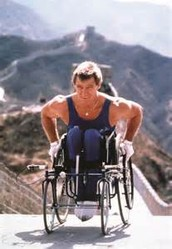 What was Rick Hansen involved in that made him a leader?