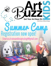 ART BUZZ SUMMER CAMP!!