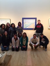Art Students Visit Indianapolis Museum of Art