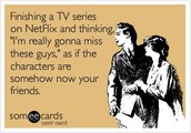 If you're suffering from Post Netflix Series Depression, check out this link!