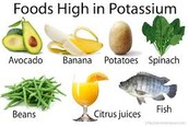 what kind of food have potassium