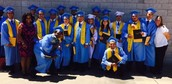 Gilliam Counselors with Graduates