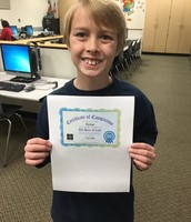 Dylan completed the Hour of Code!