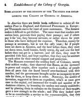 Establishment of Georgia 1