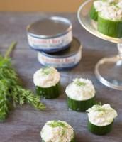 Tuna and Cucumber Bites