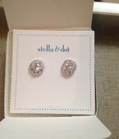 Glint Flower CZ Earrings $19.50