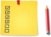 EOY Checklist for Teachers
