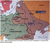 October 1918 - independence of Poland, Hungary, and Czechoslovakia