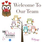 New Summer Team Members!