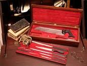 Civil War Battlefield Medical Kits / Tools