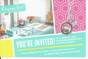 Origami Owl Jewelry Bar will be open!!