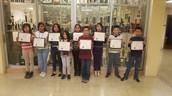 Cigarroa ES students STEM Day Winners