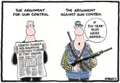 More Gun Control can help many people!