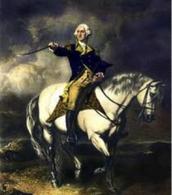George Washington on a Horse