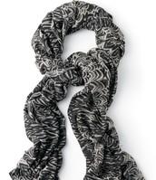 Union Scarf - Painted Zebra $20