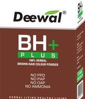 BH+ 100 herbal hair color
