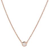 Wishing Necklace – Rose Gold - $34