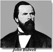 John barterson and John bidwell