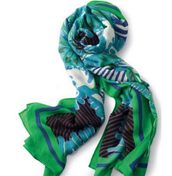 SOLD Union Square Scarf - Spring Green