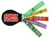 Spirit Monkey Lanyards and Spirit Sticks
