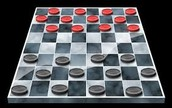 I used to play checkers because it was difficult.