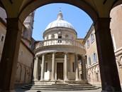 La iglesia de San Pietro in Montorio,Roma.