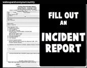 Universal Incident Form