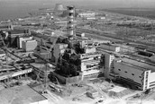 Remains of Nuclear Plant