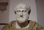 Roughly 350 B.C. Aristotle gets the ball rolling.