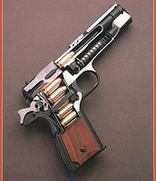 Colt Arms 1911 .45 ACP cutaway