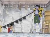 Arlong vs Luffy