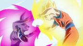 Super Saiyan Goku vs Lord Bills