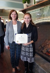 Anne Silveira Receives Superintendent's Award for Academic Excellence!