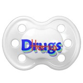 say no to drugs baby accessories